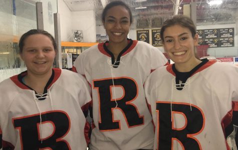 3 Hatters skate with Ridgefield Tigers
