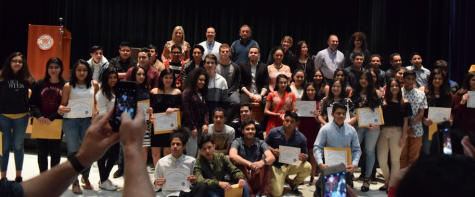 ESL Academic Achievement Awards & International Night