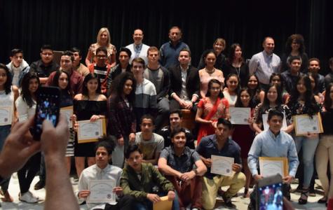 ESL Academic Achievement Awards & International Night