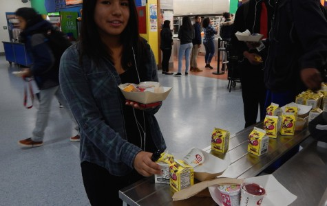 Cartons of unopened milk go to waste in cafeteria