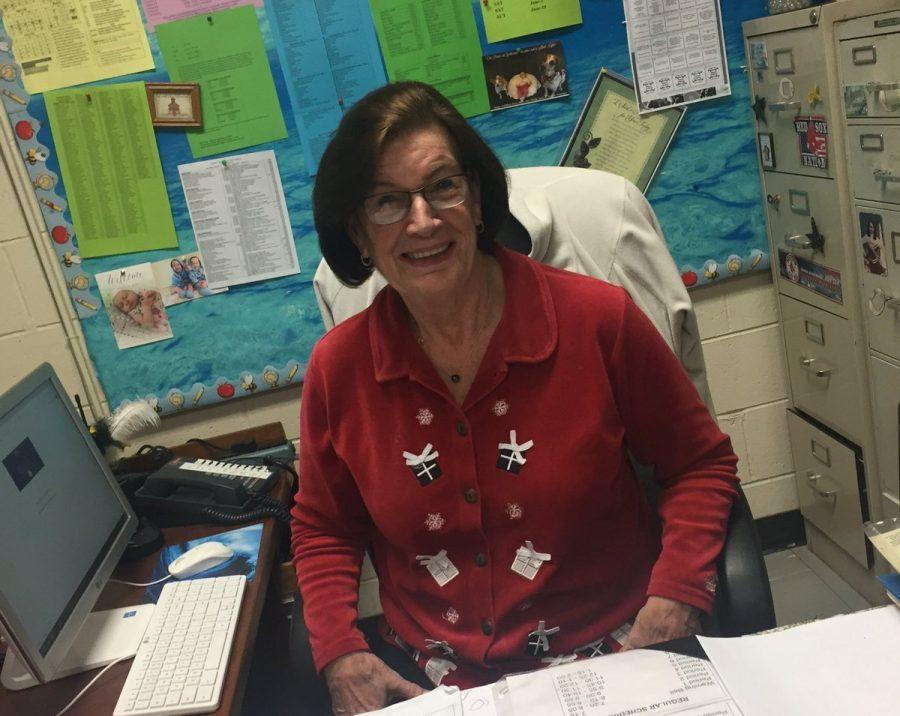 Level 3 Secretary Sandy Turner retired on Dec. 23, after working for Danbury Public Schools for 45 years. DHS graduate Kathleen Santos is the new Level 3 secretary.