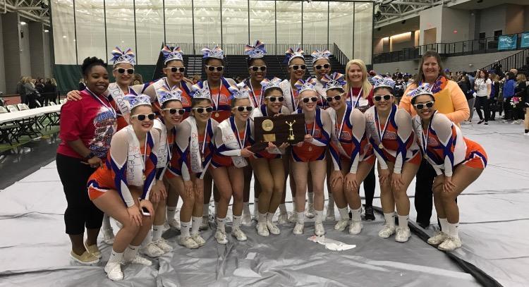 Cheerleading has triumphant season