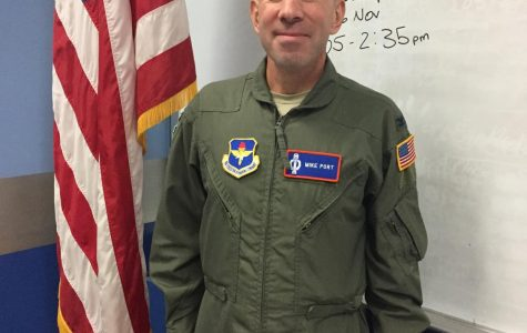 New AFJROTC Officer takes flight