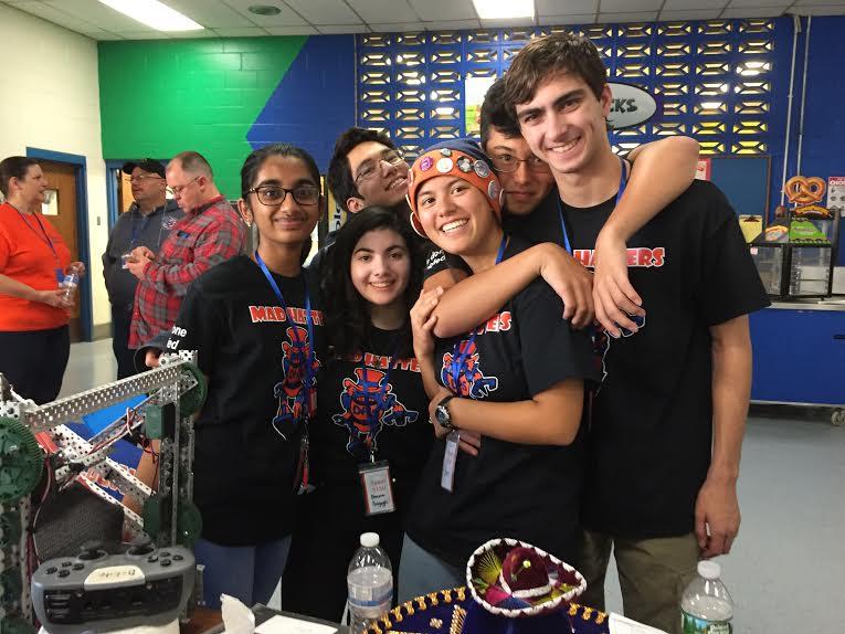 VEX in the zone robotics tournament