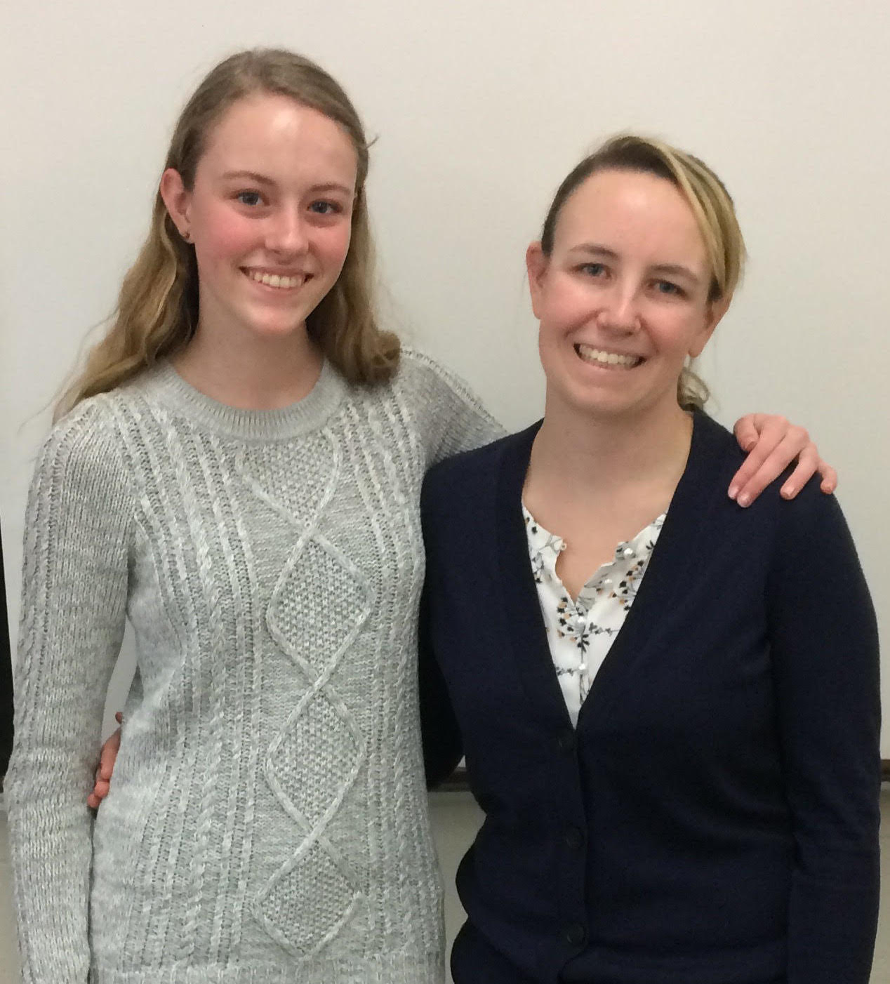 Sophomore Laura Snow won the DHS Poetry Out Loud competition organized by English teacher Elise Tobin. Snow now will compete at the state level.