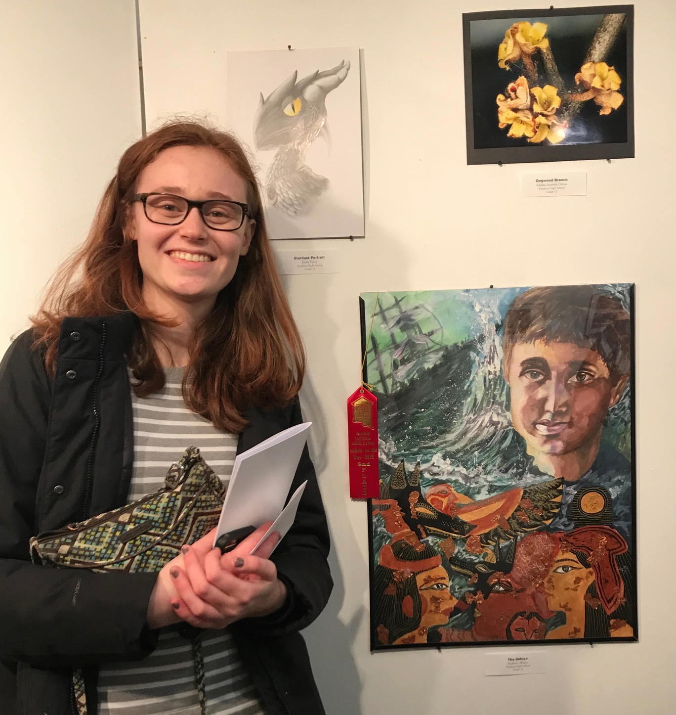 DHS artists placed in 10 of 19 categories in last weekend's regional showcase at the Brookfield Craft Center