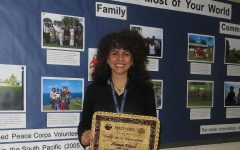 Bilbao shares Peace Corps' experience with students