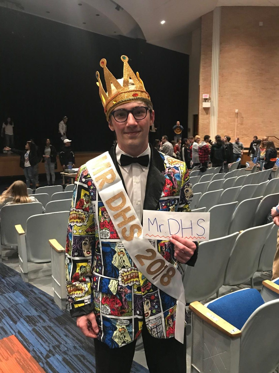 Mr. DHS winner Nicolas Savo.