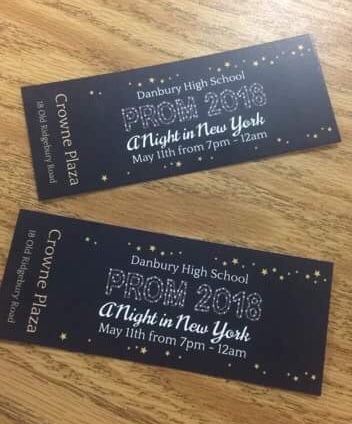 The ticket that promises your entrance into a New York night.