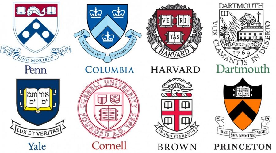 Four+DHS+students+will+be+attending+three+of+these+ivy+league+schools+in+the+fall.