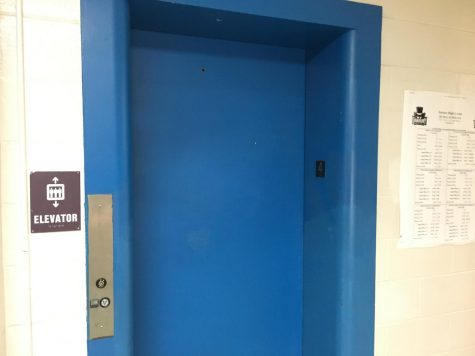 The C and D elevators are out-of-service until further notice, according to Principal Dan Donovan.