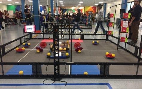 Battle of the Bots: Robotics Team competes for regionals