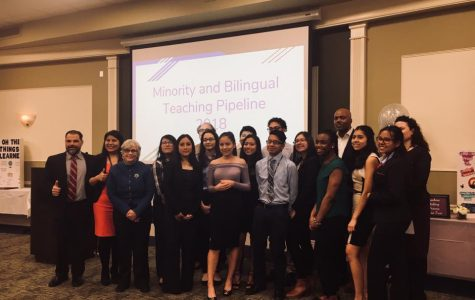 Minority and bilingual teaching pipeline poster session