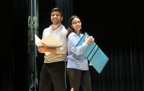 DHS Productions rehearsing for 'Godspell' musical
