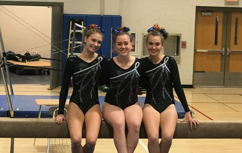 Girls' gymnastics team tumbles towards FCIACs