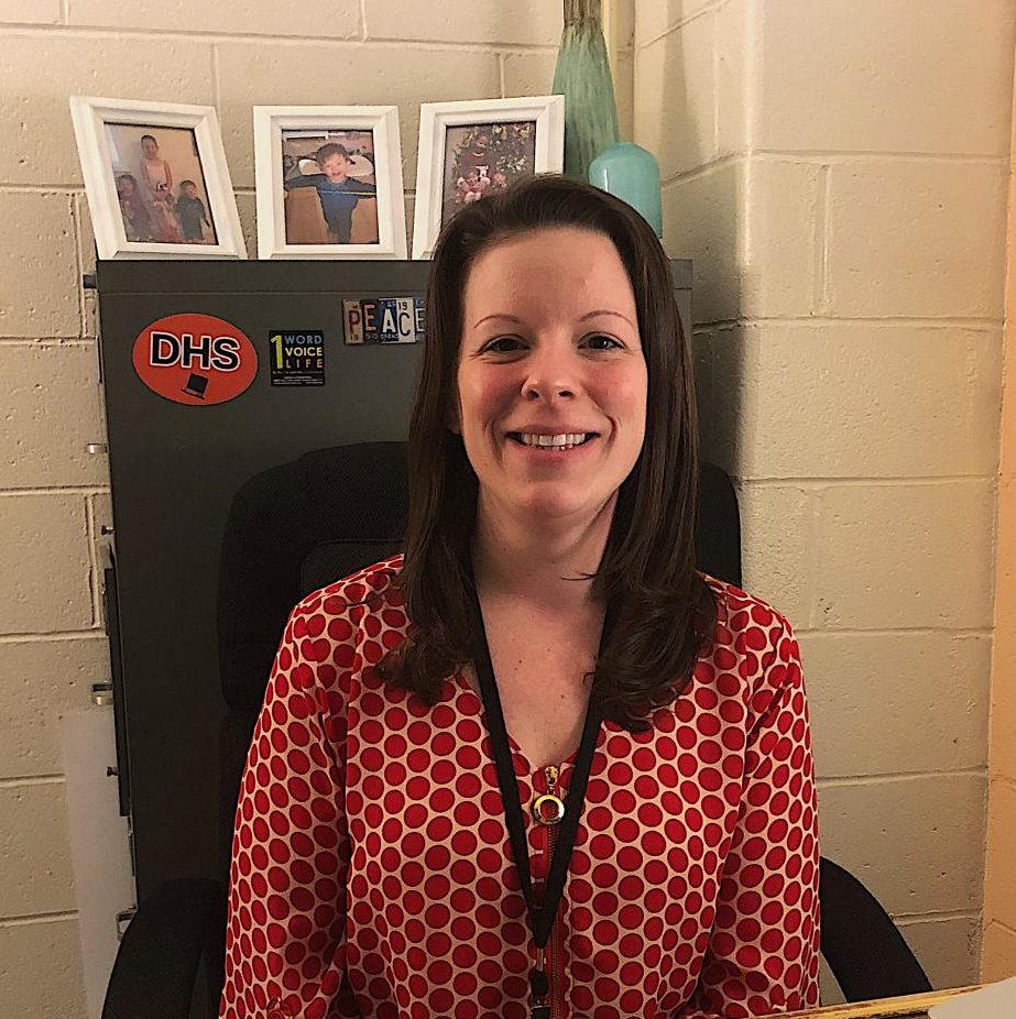 Gina Vanak is a new guidance counselor, filling the position left open when Michael Boucher accepted another job. She is in the Level 3 office. Before joining DHS, she worked for 10 years at Brookfield High School.