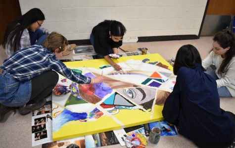 Art students create pieces to showcase in the G building
