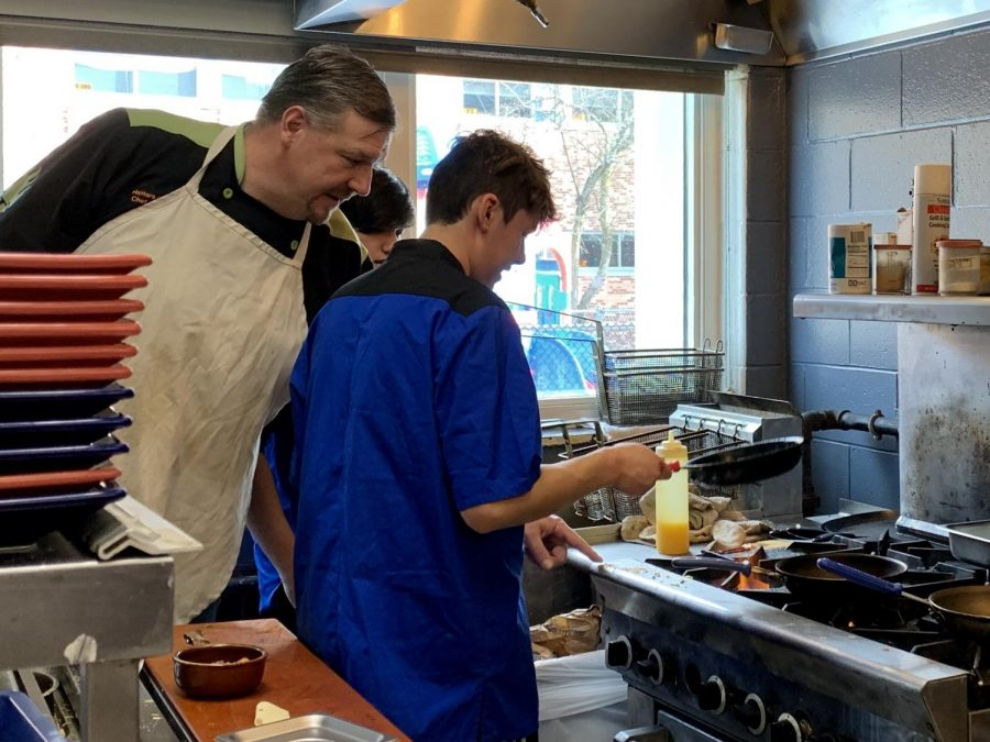 The Hatters' Cafe prepares to open for teachers and students