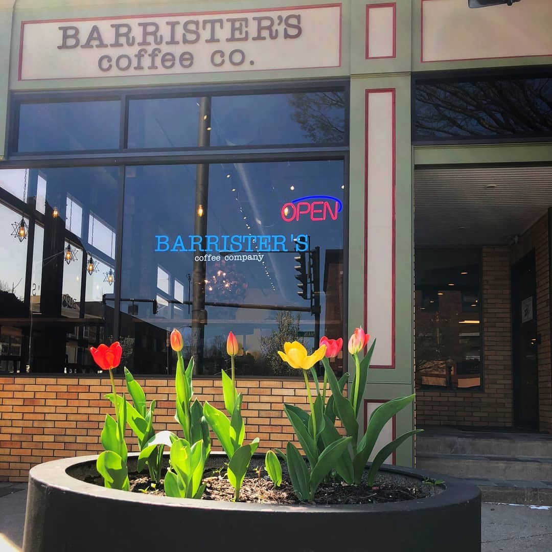 Barrister's Coffee Company is located on One West Street in Danbury. It is open 7 a.m.-5 p.m. Monday-Friday and 8 a.m.-2 p.m. Saturday.