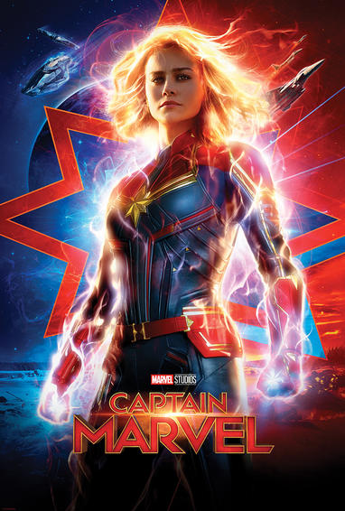 Brie Larson stars in the Marvel Cinematic Universe's newest film,