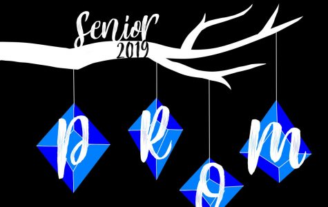 Kayla Tolliver-Van Wright's design was selected as this year's prom logo. Her design will appear on the T-shirt's given to seniors who are attending prom this year.
