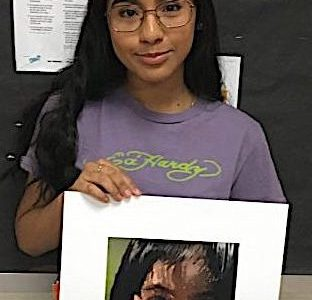 Campoverde wins prestigious Scholastic Gold Medal for artwork