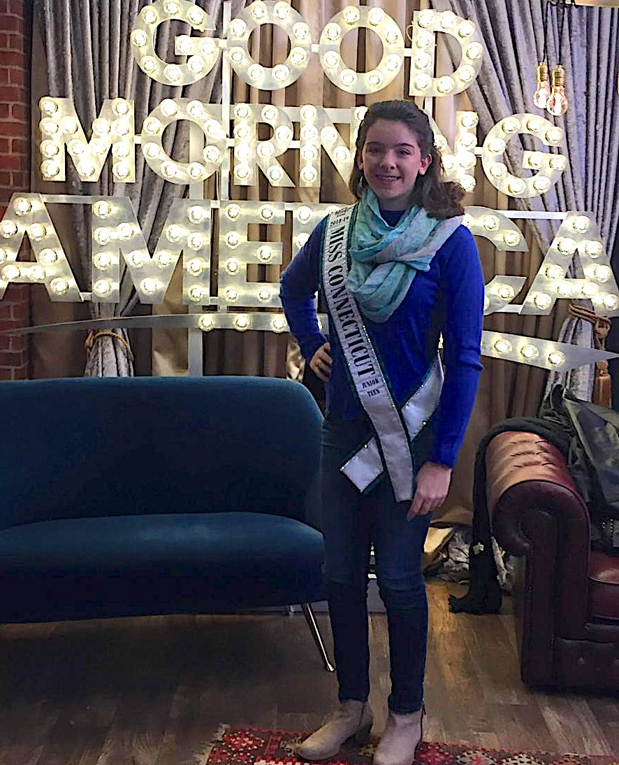 Sophomore Kaitlyn Klampert won the title International United Miss Connecticut Junior Teen. She will go on to compete for the title International United Miss Junior Teen in Galloway, N.J. July 14 -20.