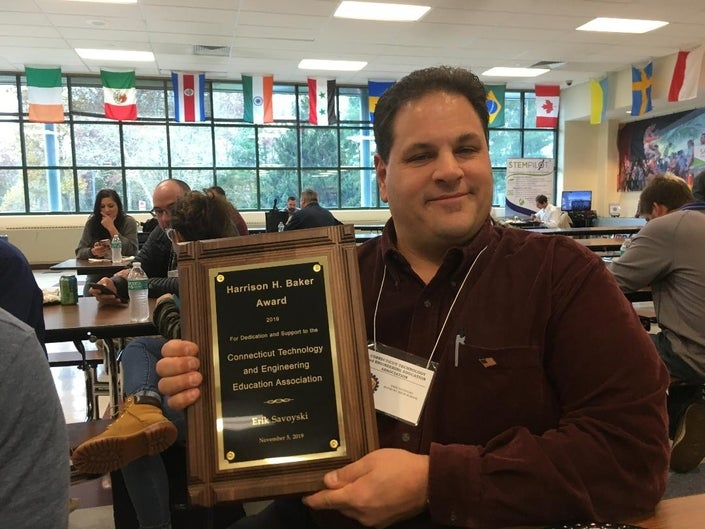 Danbury High Teacher Erik Savoyski Shows His Dedication In and Out of the Classroom