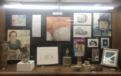 Art Department Displays Art To Inspire Others