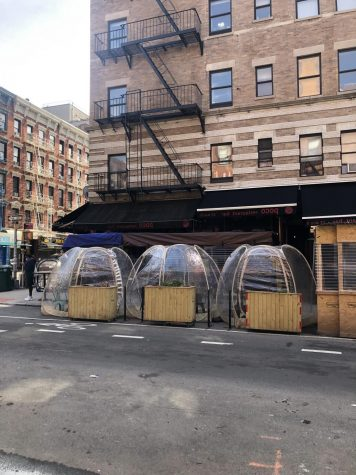 These bubbles, utilized by restaurants in NYC, or something similar, are coming to soon DHS.
